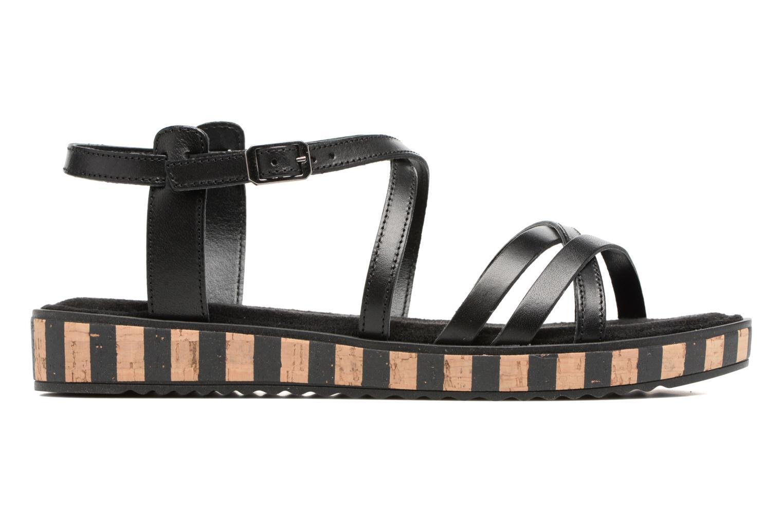 Sandales et nu-pieds Tamaris Zabra Noir vue derrière