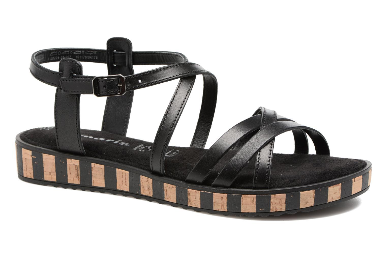 Sandales et nu-pieds Tamaris Zabra Noir vue détail/paire