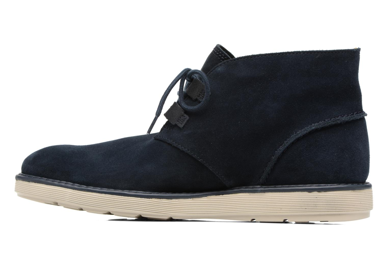 Bottines et boots Clarks Fayeman Hi Bleu vue face