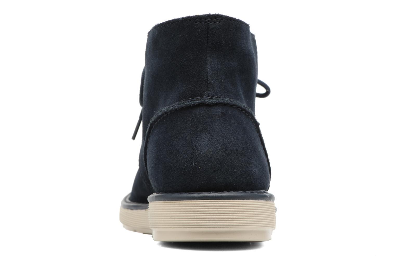 Bottines et boots Clarks Fayeman Hi Bleu vue droite
