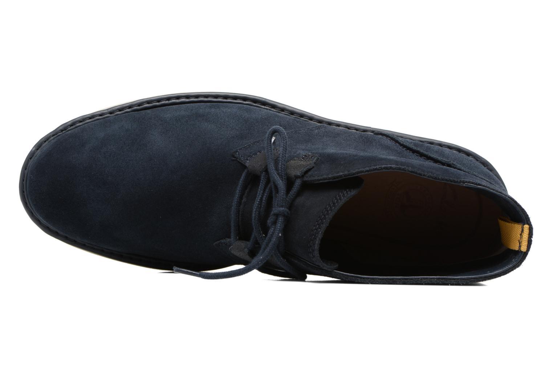 Bottines et boots Clarks Fayeman Hi Bleu vue gauche