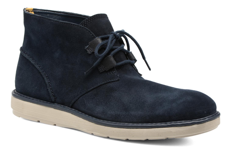 Bottines et boots Clarks Fayeman Hi Bleu vue détail/paire
