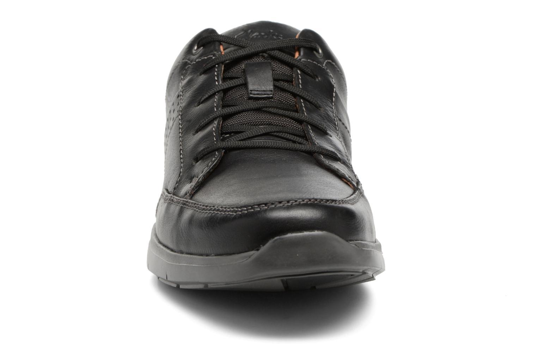 Baskets Clarks UnLomac Lace Noir vue portées chaussures