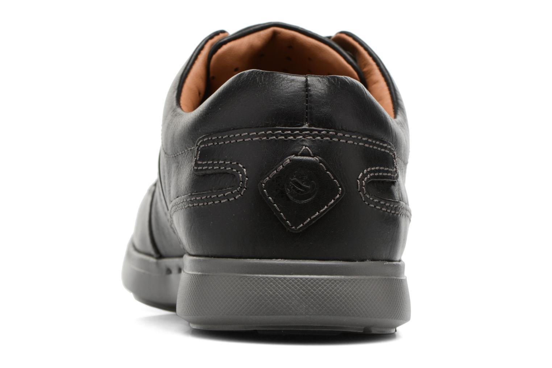 Baskets Clarks UnLomac Lace Noir vue droite