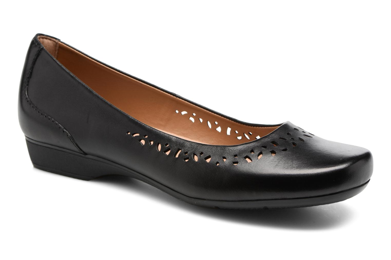 Zapatos de mujer baratos zapatos de mujer Clarks Blanche Garyn (Negro) - Bailarinas en Más cómodo
