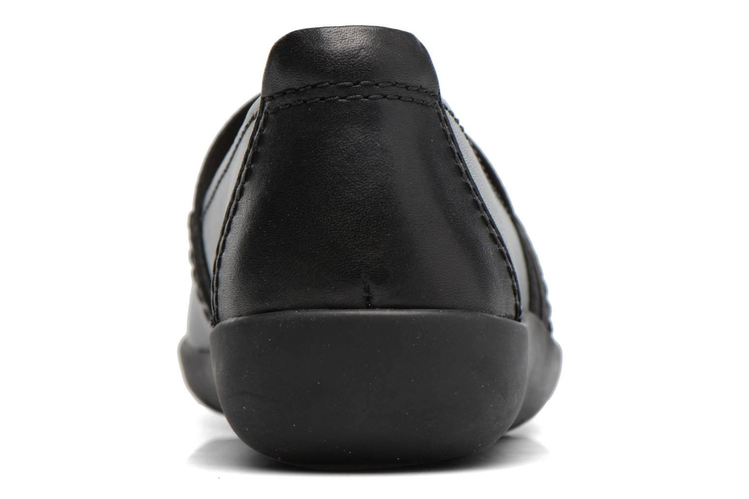 Ballet pumps Clarks Medora Ally Black view from the right