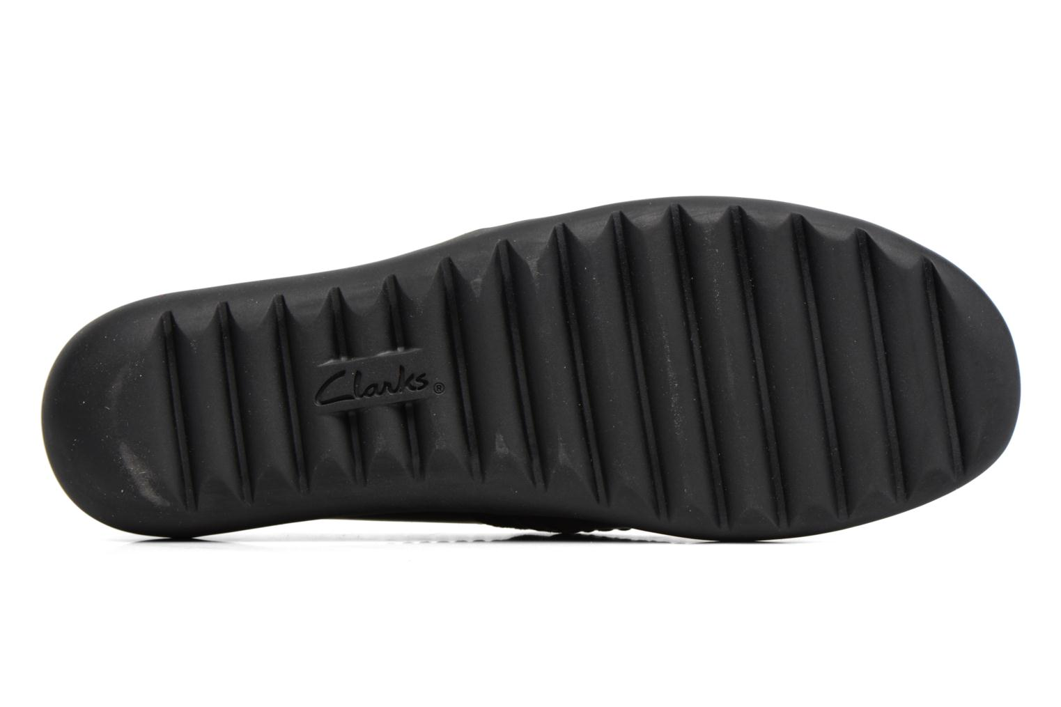 Ballet pumps Clarks Medora Ally Black view from above