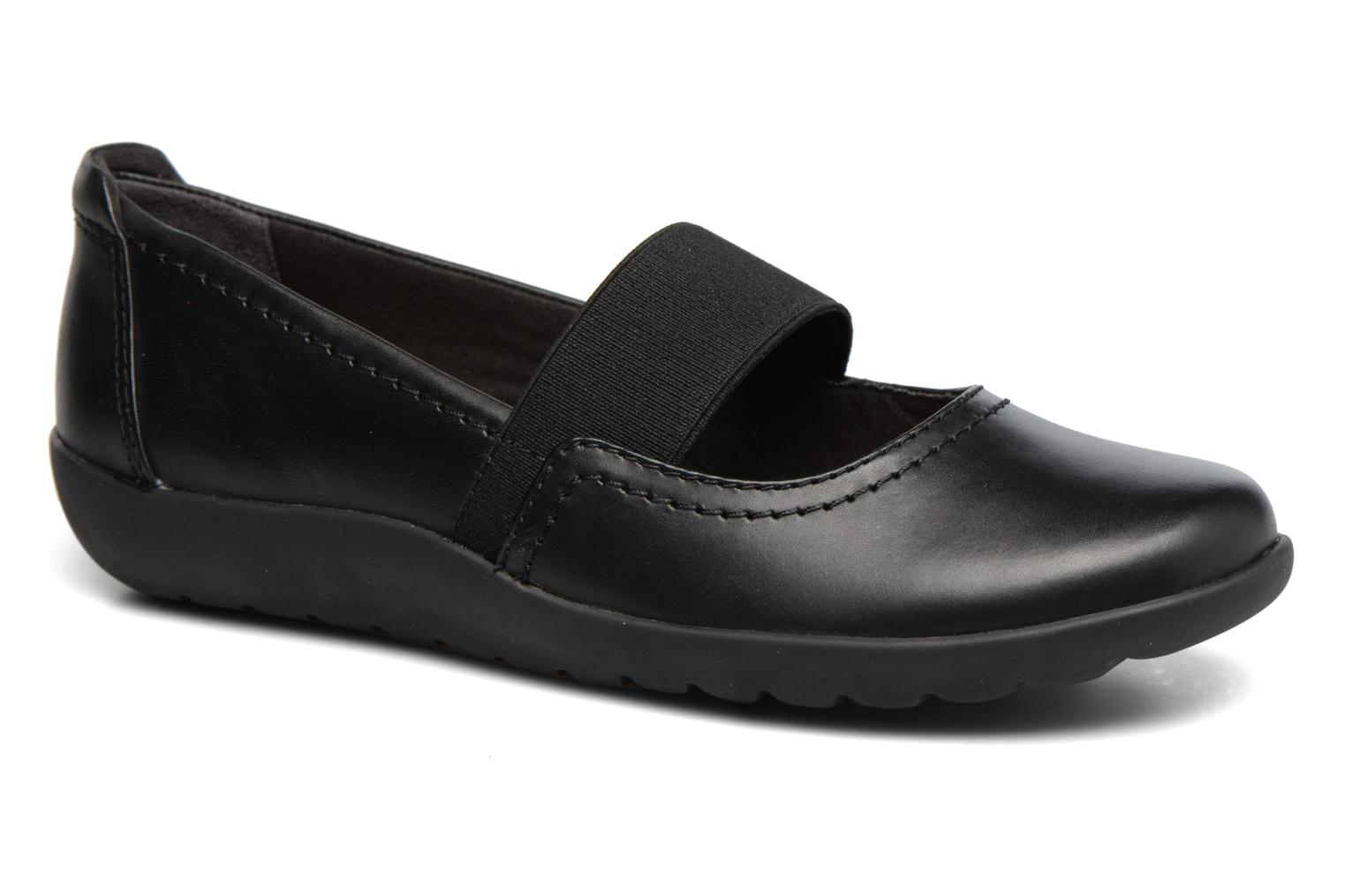 Ballet pumps Clarks Medora Ally Black detailed view/ Pair view