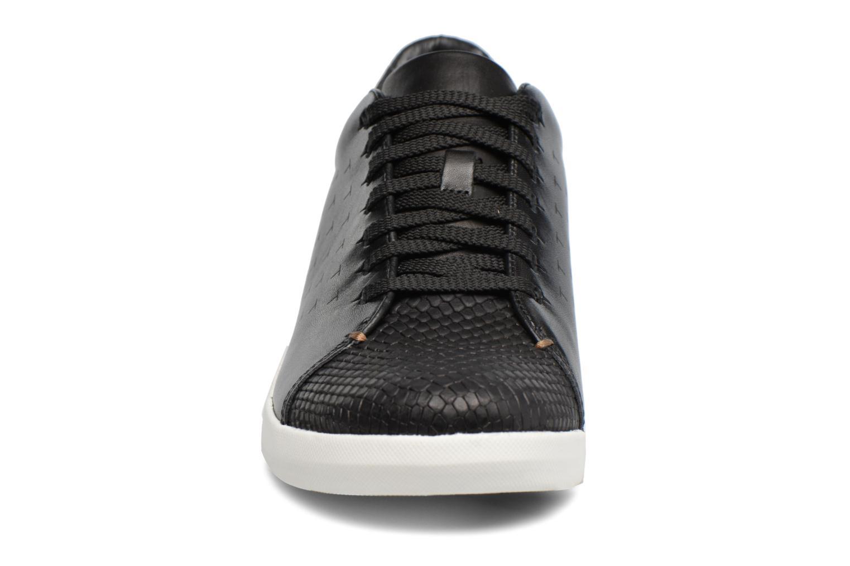 Baskets Clarks Tri Abby Noir vue portées chaussures