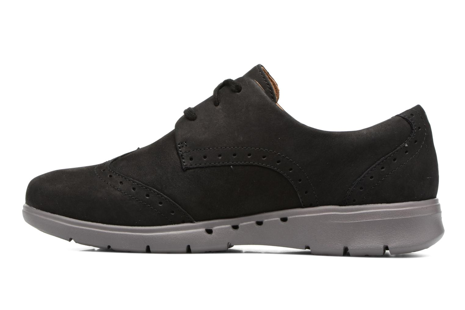 Un Hinton Black Nubuck