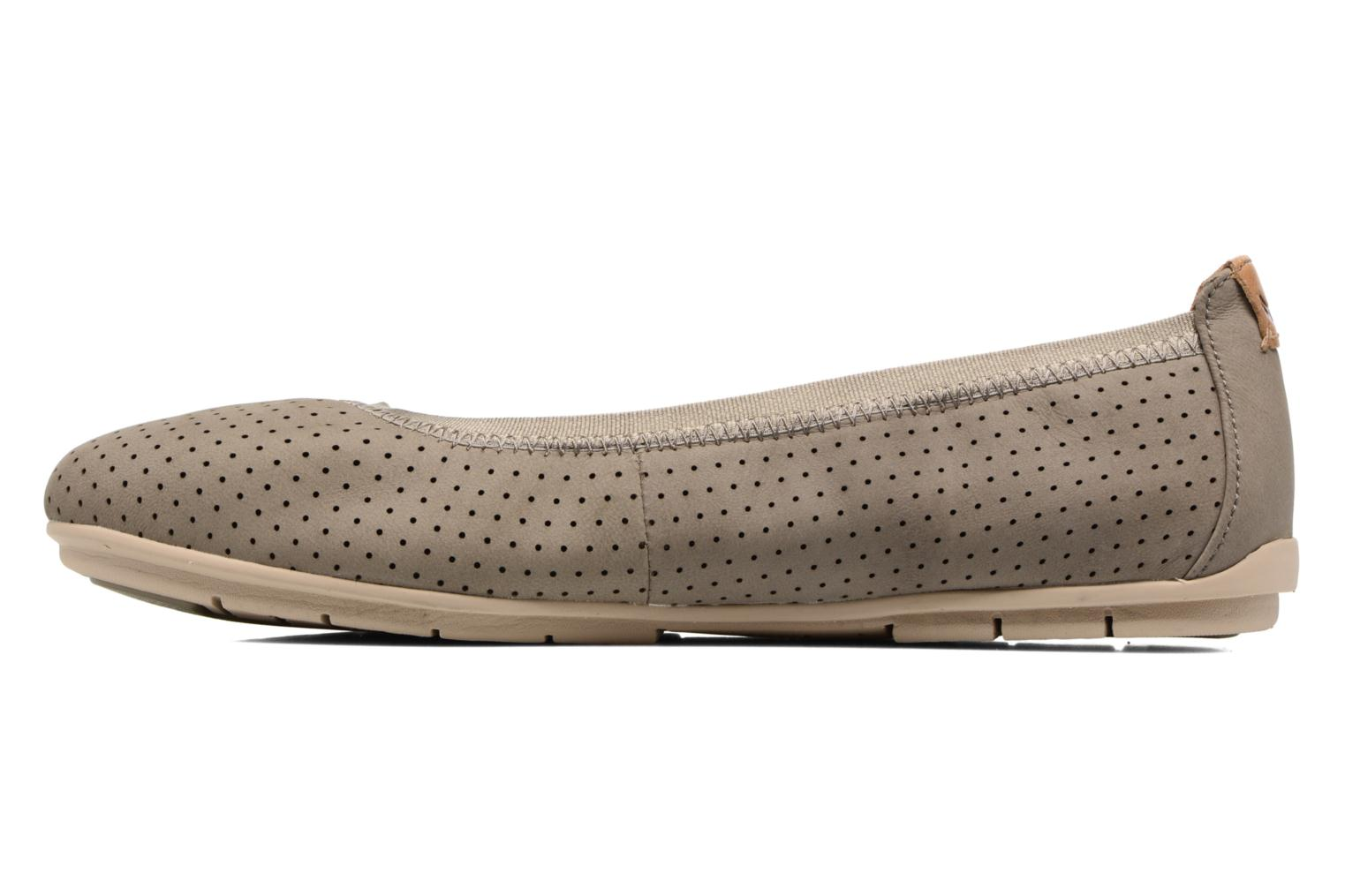 Ballet pumps Clarks Un Tract Grey front view