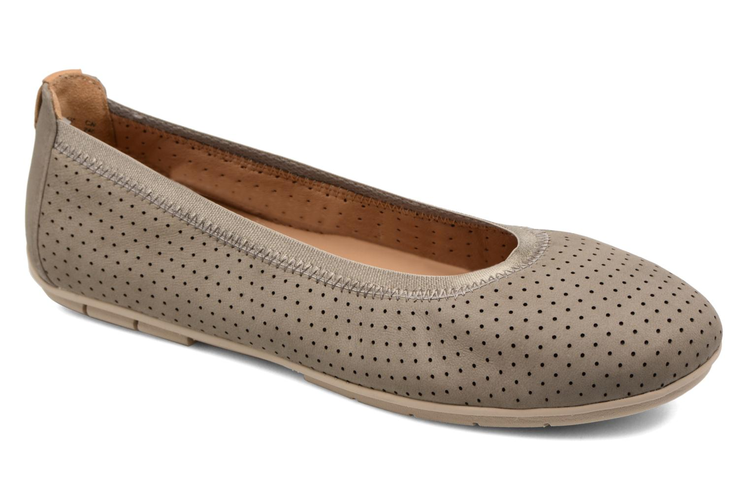Ballet pumps Clarks Un Tract Grey detailed view/ Pair view