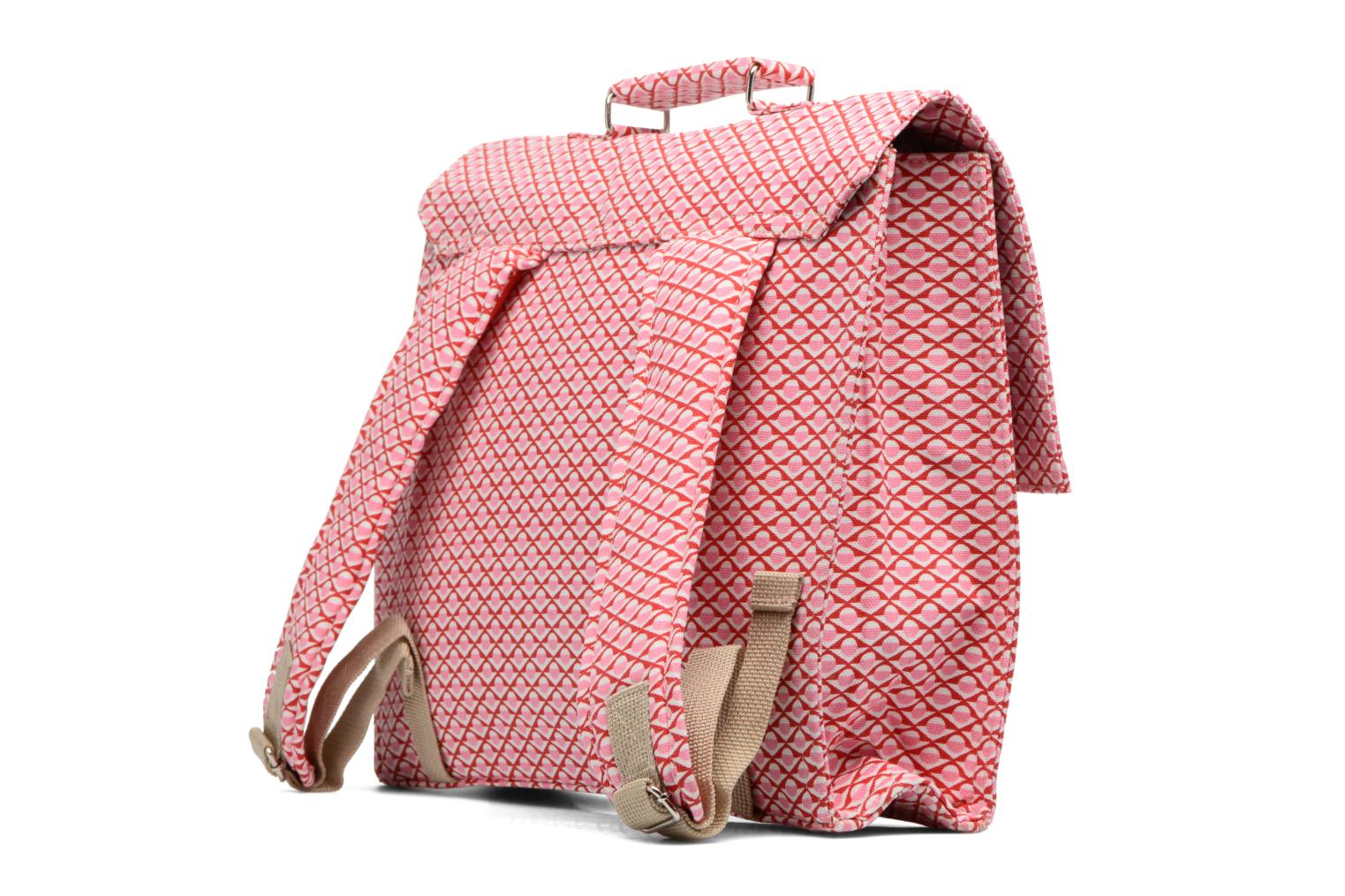 Scolaire Bakker Made With Love Chine 37cm Rose vue droite
