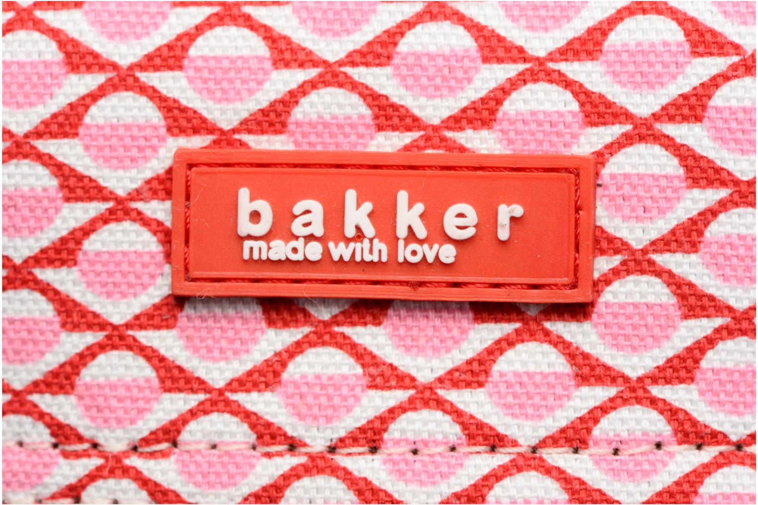 Scolaire Bakker Made With Love Chine 37cm Rose vue gauche