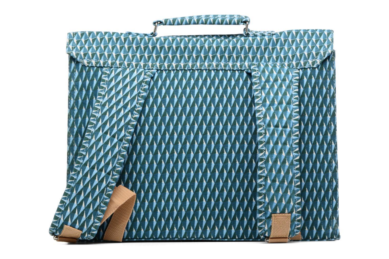 Scolaire Bakker Made With Love Diamond 37cm Bleu vue face