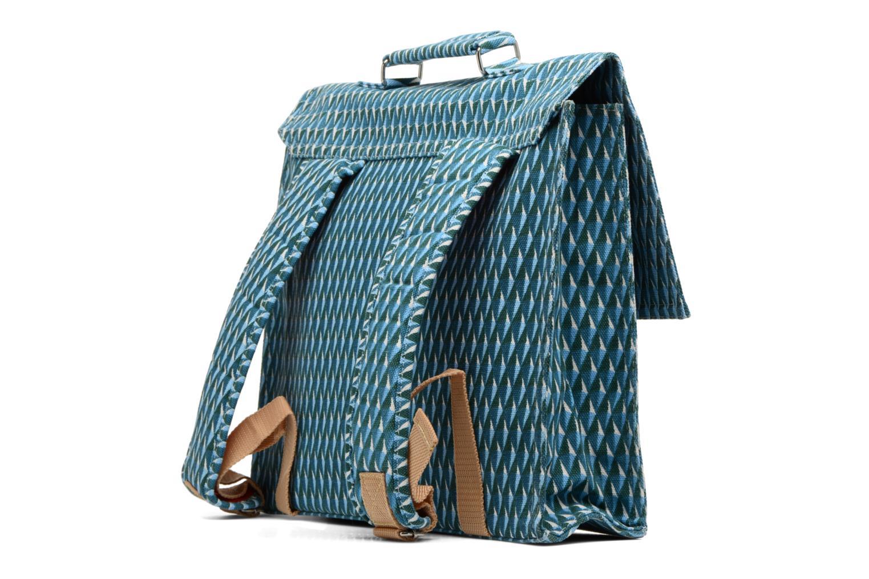 Scolaire Bakker Made With Love Diamond 37cm Bleu vue droite