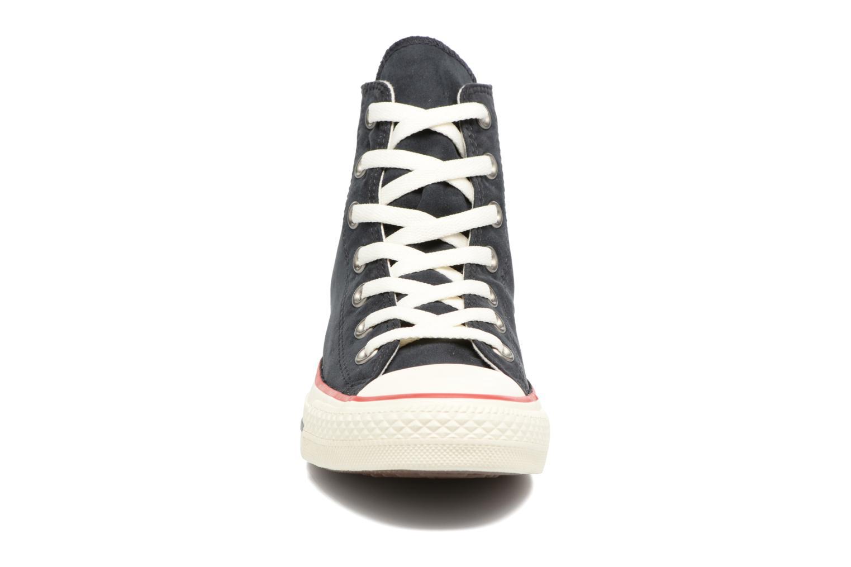 Baskets Converse Chuck Taylor All Star Ombre Wash Hi W Noir vue portées chaussures