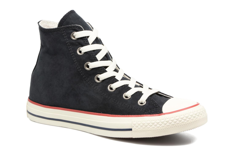 Baskets Converse Chuck Taylor All Star Ombre Wash Hi W Noir vue détail/paire