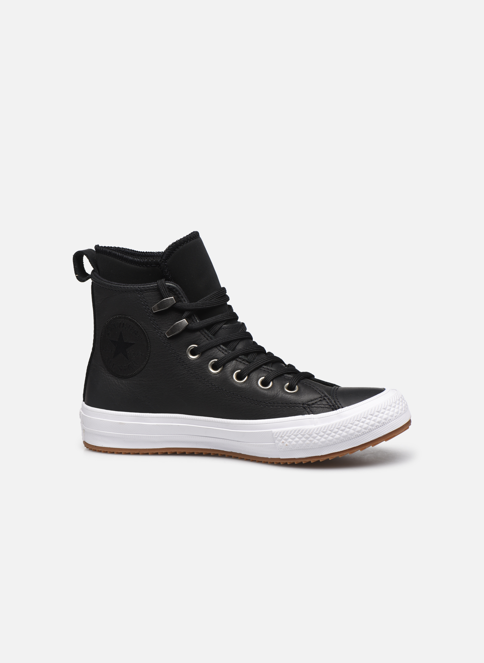 Baskets Converse Chuck Taylor WP Boot WP Leather Hi Noir vue derrière