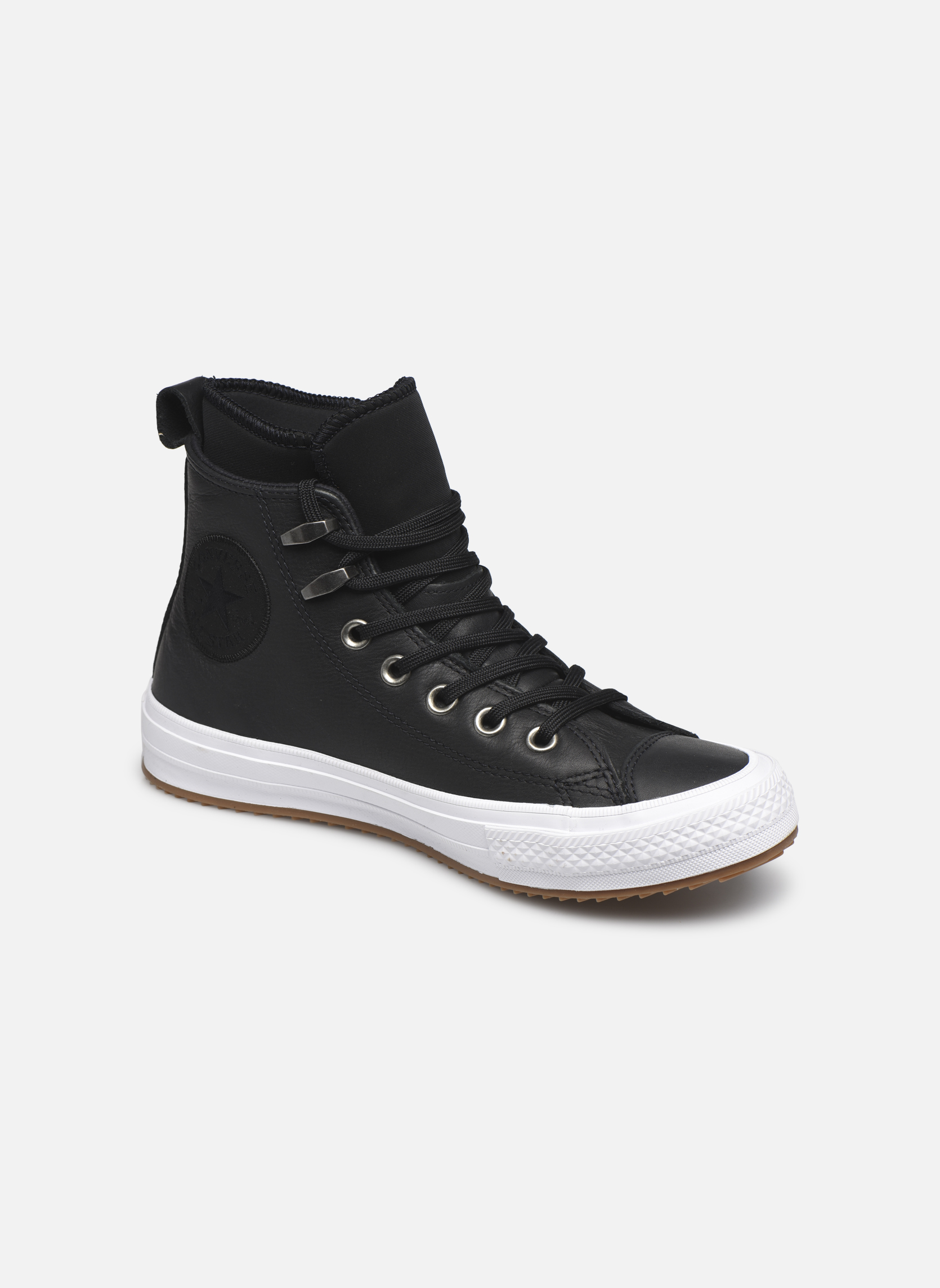 Chuck Taylor WP Boot WP Leather Hi Black/black/white