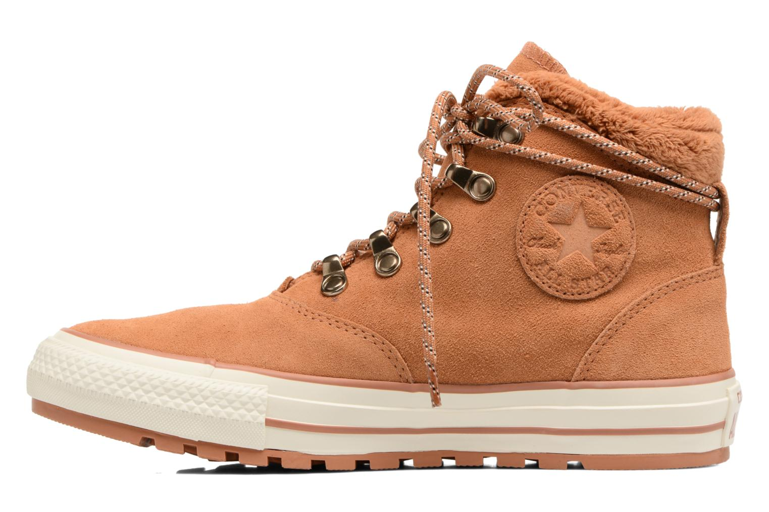 Ankle boots Converse Chuck Taylor All Star Ember Boot Suede + Fur Hi Brown front view