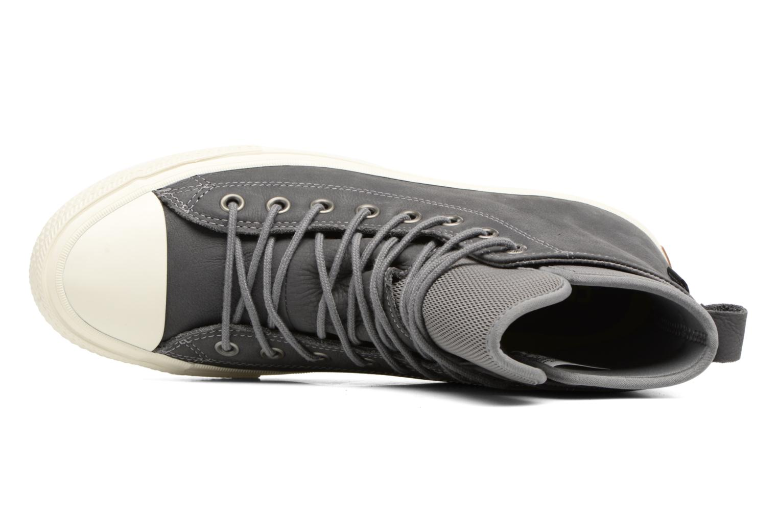 Trainers Converse Chuck Taylor WP Boot Nubuck Hi Grey view from the left