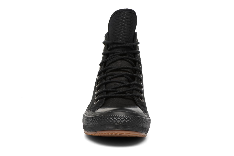 Baskets Converse Chuck Taylor WP Boot Nubuck Hi Noir vue portées chaussures