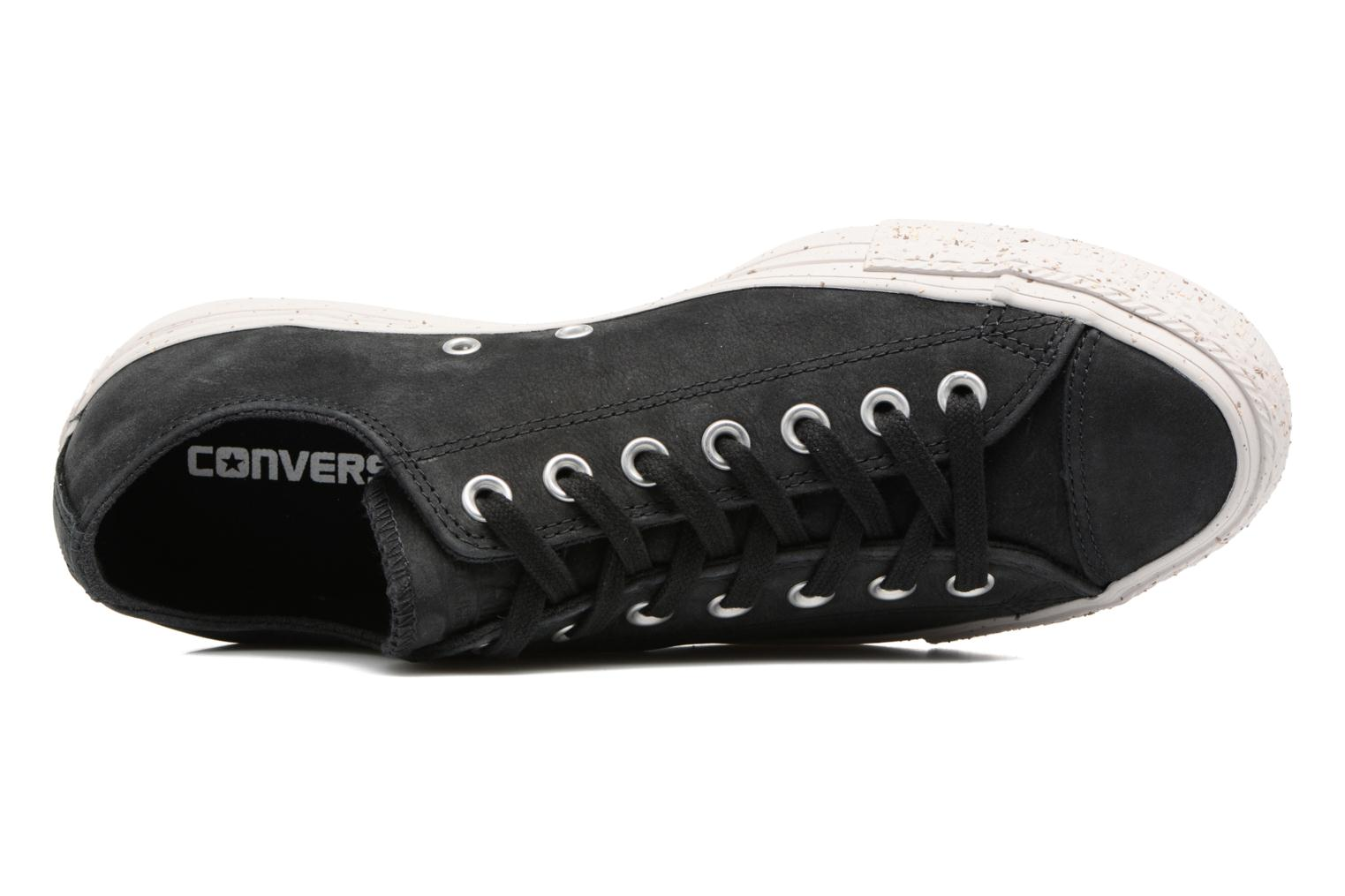 Chuck Taylor All Star Nubuck Ox M Black/Black/Pale Putty