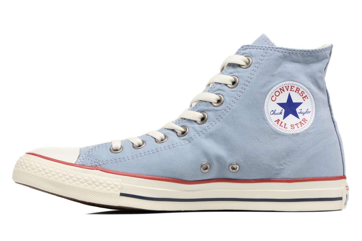 Baskets Converse Chuck Taylor All Star Ombre Wash Hi M Bleu vue face