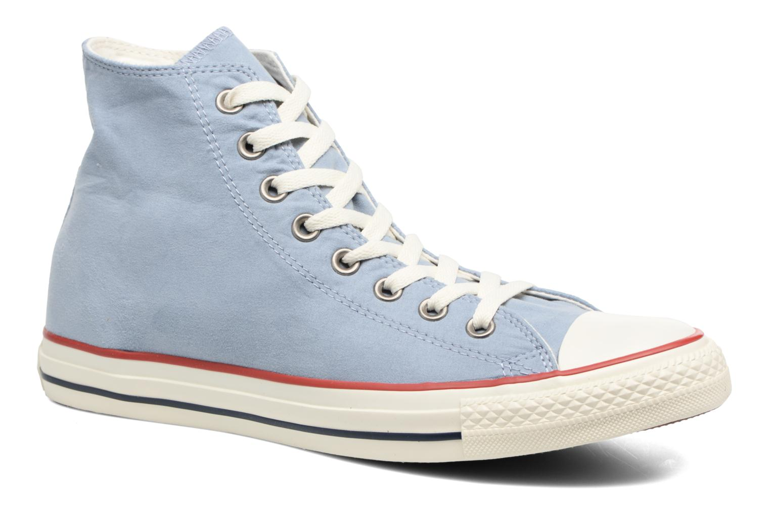 Baskets Converse Chuck Taylor All Star Ombre Wash Hi M Bleu vue détail/paire