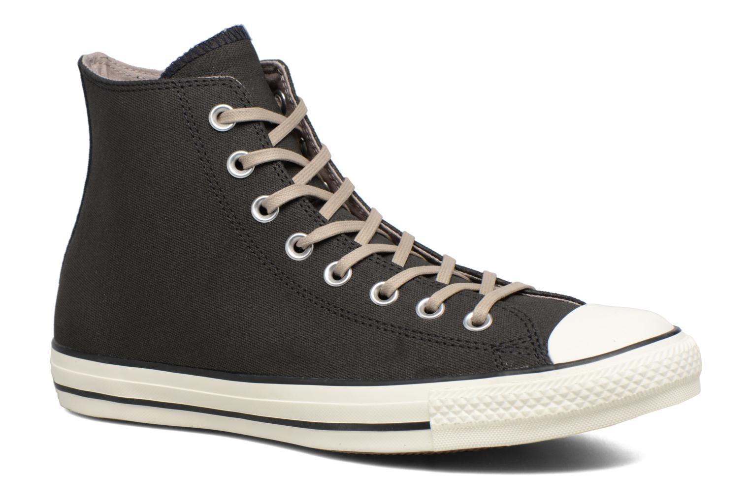 Sneaker Converse Chuck Taylor All Star Coated Leather Hi schwarz detaillierte ansicht/modell