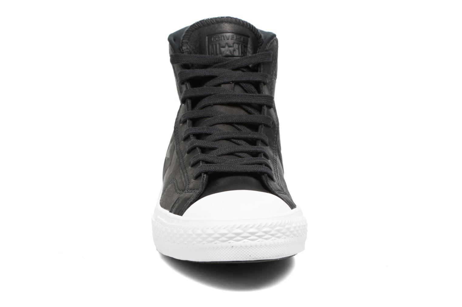 Star Player Leather Hi Black/black/white