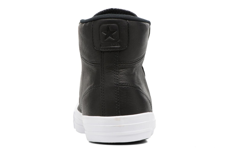Sneaker Converse Star Player Leather Hi schwarz ansicht von rechts