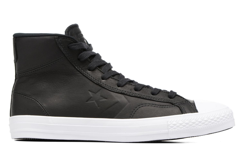 Sneaker Converse Star Player Leather Hi schwarz ansicht von hinten
