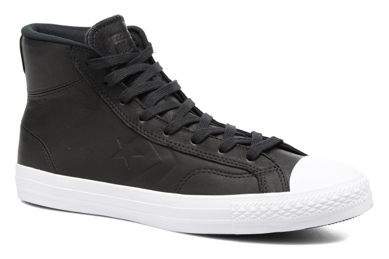 Baskets Converse Star Player Leather Hi Noir vue détail/paire