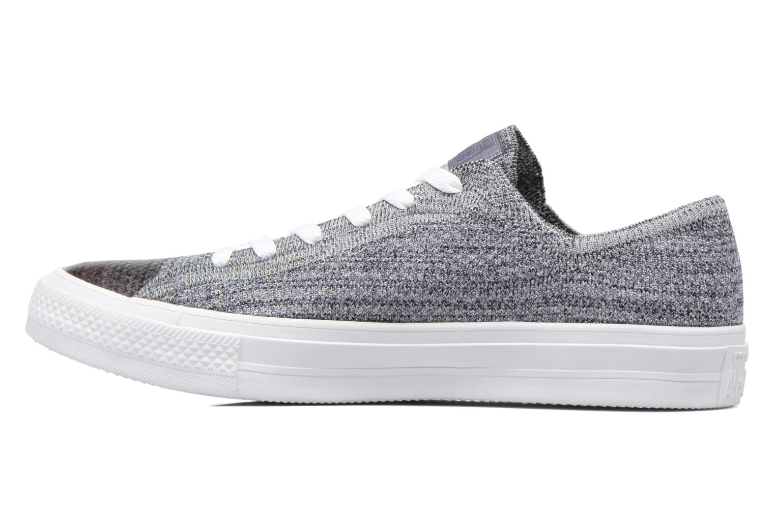 Sneakers Converse Chuck Taylor All Star Ox Flyknit Multi Grijs voorkant