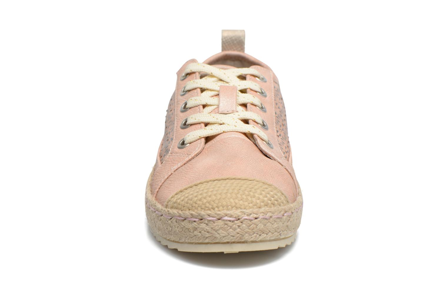Espadrilles Mustang shoes Padrille Pink model view