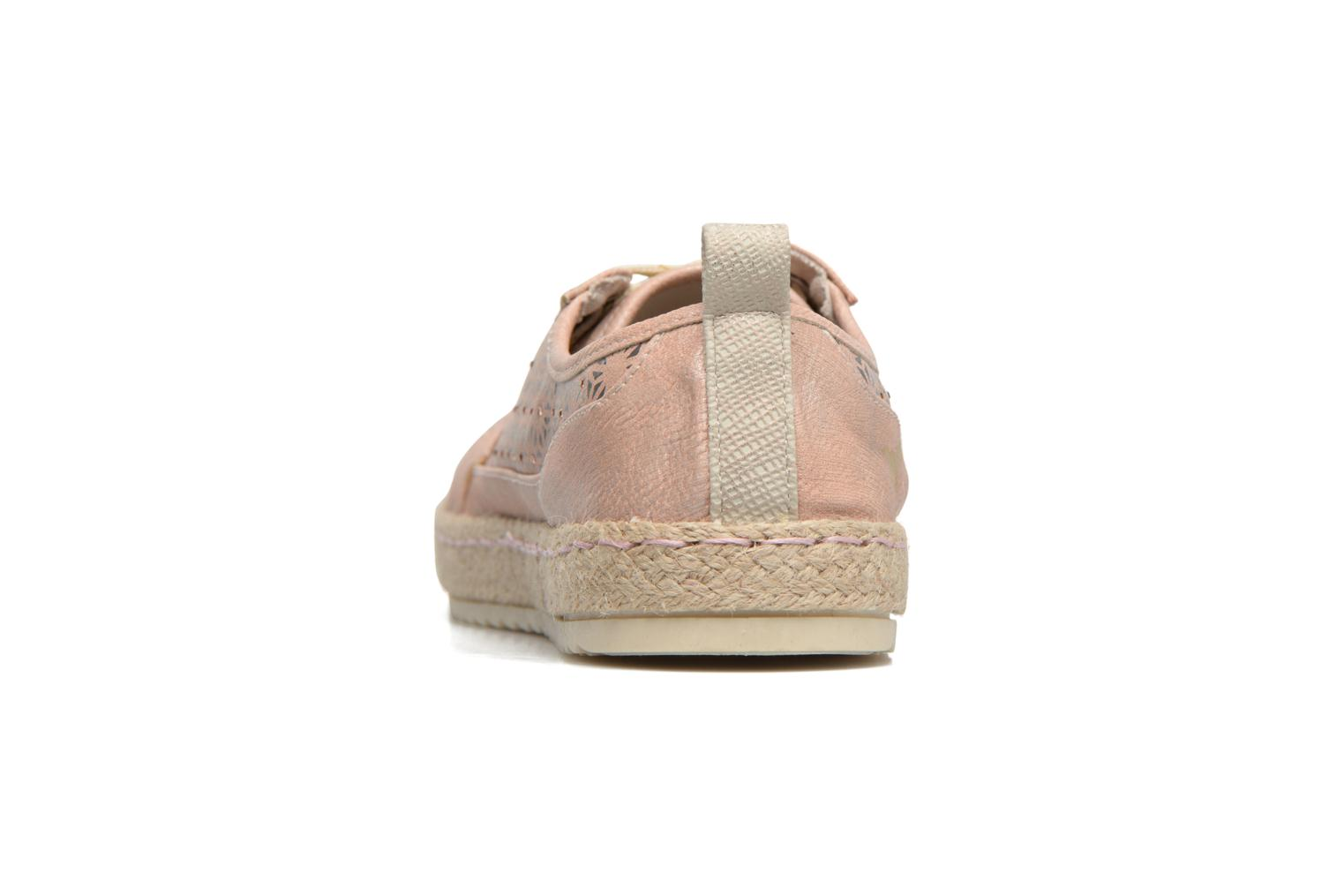 Espadrilles Mustang shoes Padrille Pink view from the right