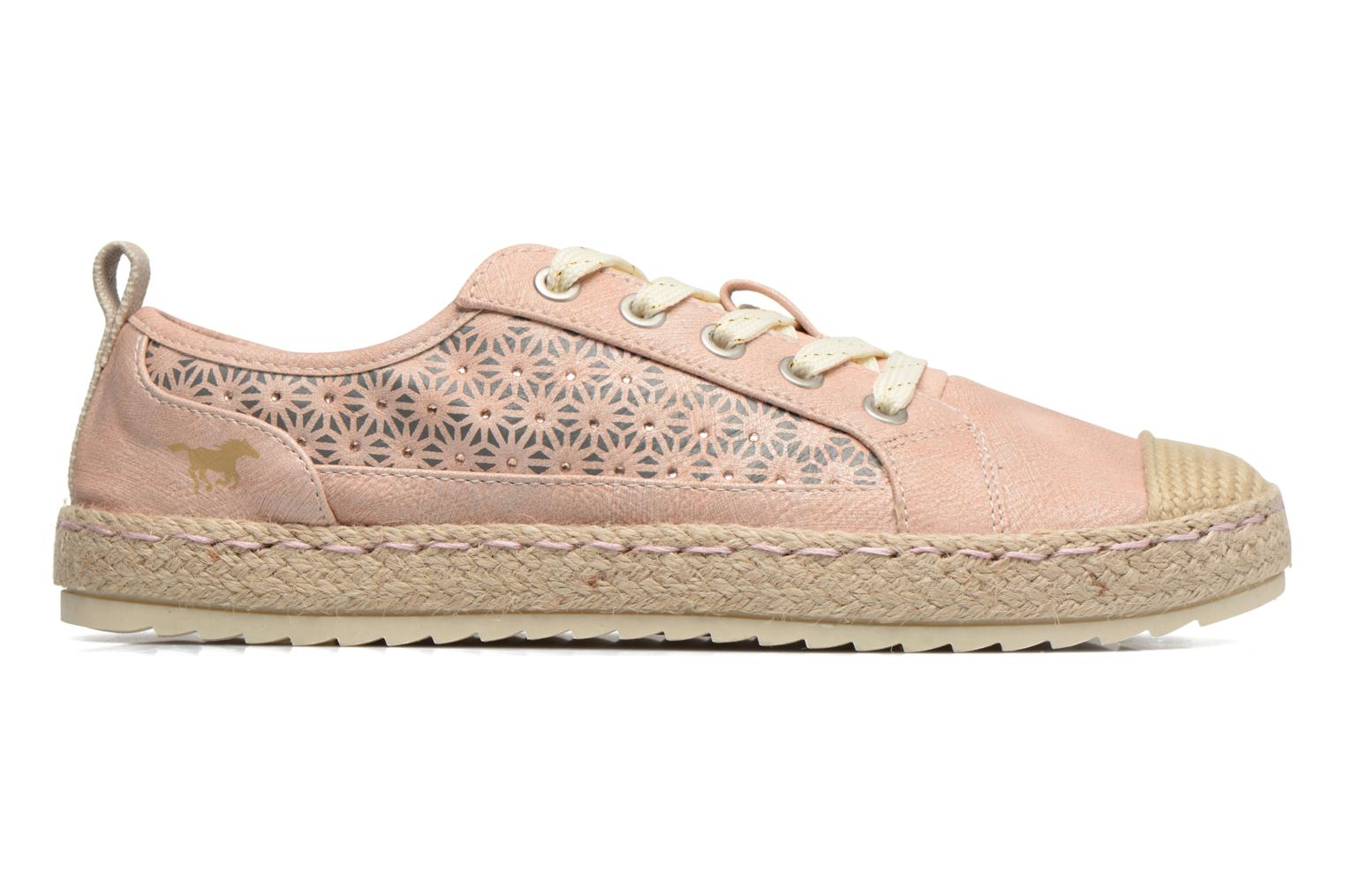 Espadrilles Mustang shoes Padrille Pink back view