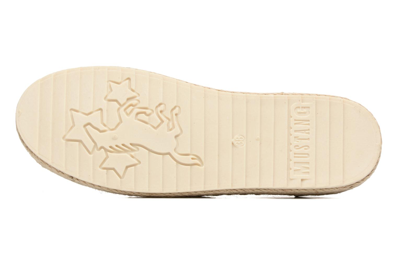 Espadrilles Mustang shoes Mocca Goud en brons boven