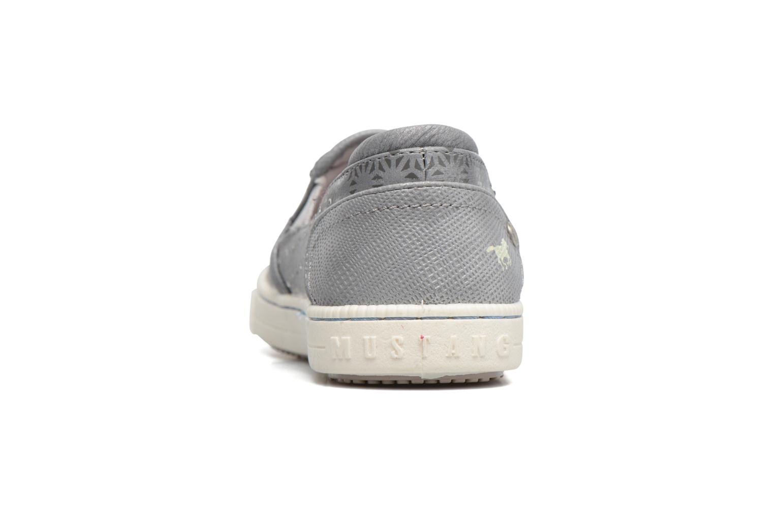 Baskets Mustang shoes Artysa Gris vue droite