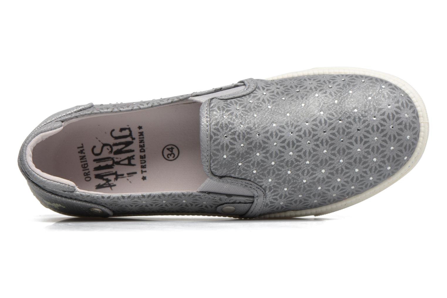 Baskets Mustang shoes Artysa Gris vue gauche