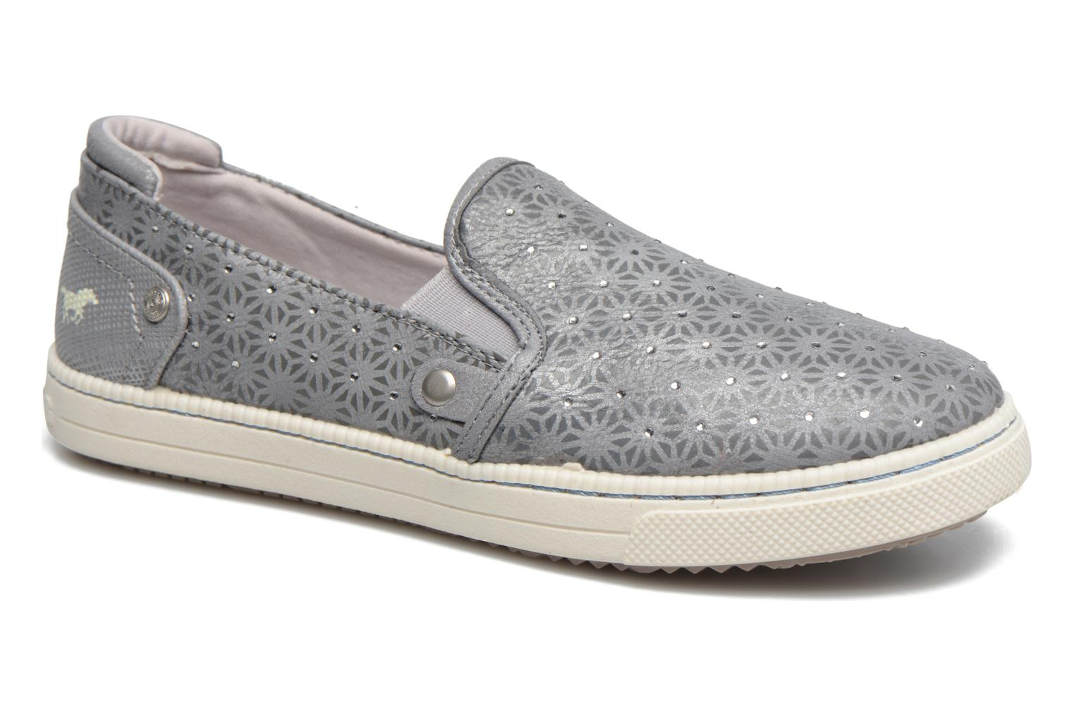Baskets Mustang shoes Artysa Gris vue détail/paire