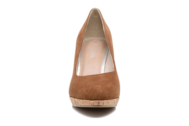 Escarpins S.Oliver Petrus Marron vue portées chaussures