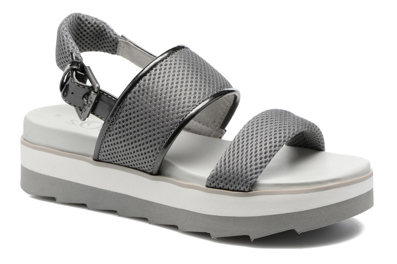 Grandes descuentos últimos zapatos S.Oliver Rosa (Gris) - Sandalias Descuento
