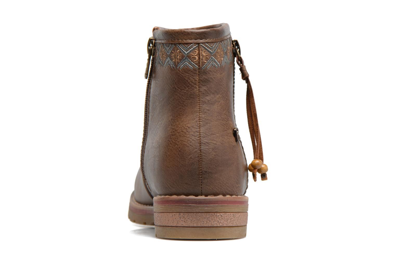 Bottines et boots Refresh Fionelle Marron vue droite