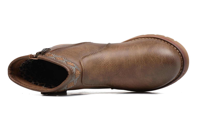 Bottines et boots Refresh Fionelle Marron vue gauche