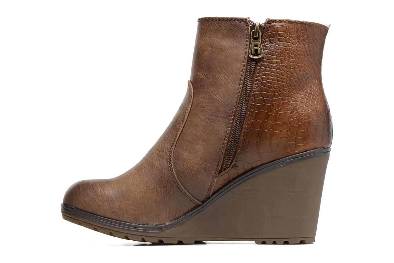 Bottines et boots Refresh Natys Marron vue face