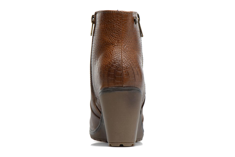 Bottines et boots Refresh Natys Marron vue droite