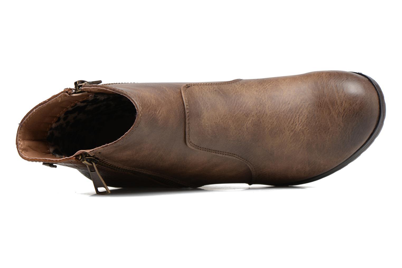 Bottines et boots Refresh Natys Marron vue gauche